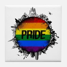 Pride City Tile Coaster