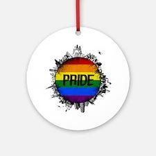 Pride City Round Ornament