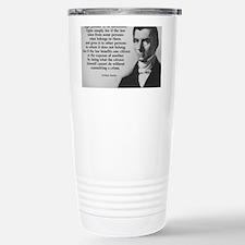 Frederic Bastiat Plunder Travel Mug