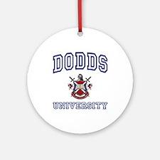 DODDS University Ornament (Round)