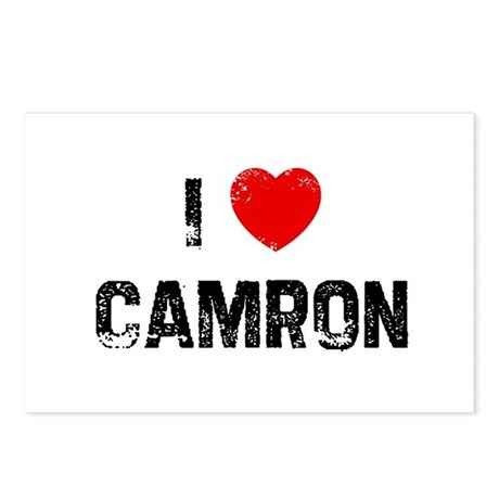 I * Camron Postcards (Package of 8)