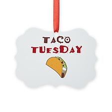 Taco Tuesday Ornament