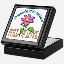 GRAMMIES GROW GARDENS FULL OF LOVE Keepsake Box