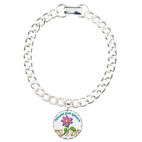 MAMAWS GROW GARDENS FULL Charm Bracelet, One Charm