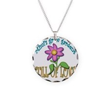 MIMIS GROW GARDENS FULL OF L Necklace Circle Charm