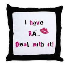 Rheumatoid Arthritis Throw Pillow