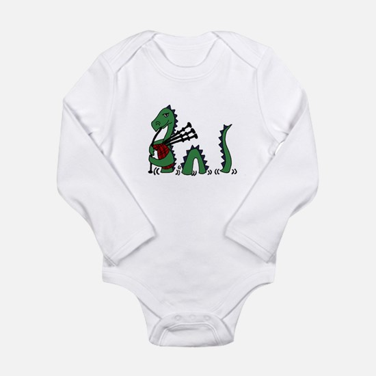Loch Ness Monster Bagpipes Body Suit