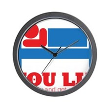 You Lie Wall Clock