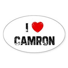 I * Camron Oval Decal