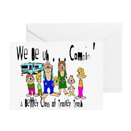 Trailer Trash Greeting Cards (6)