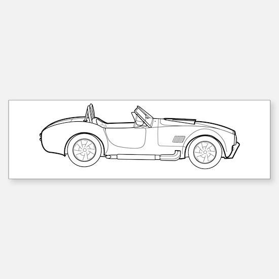 Sports Cars AC Sticker (Bumper)