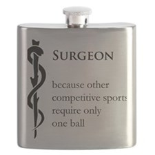 Surgeon Because... Flask