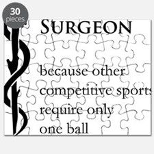 Surgeon Because... Puzzle
