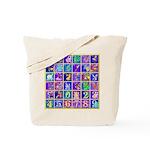 Fantasy Alphabet Bestiary Tote Bag