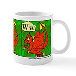 W is for Wyvern Mug