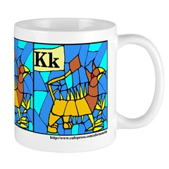 K is for Keythong Mug