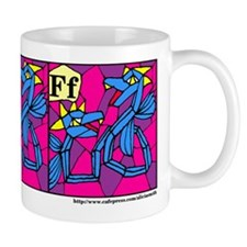 F is for Fenmine Mug
