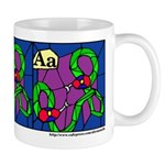 A is for Amphisbaena Mug