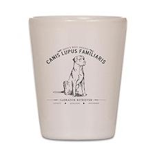 Vintage Labrador Shot Glass