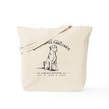 Vintage Labrador Tote Bag