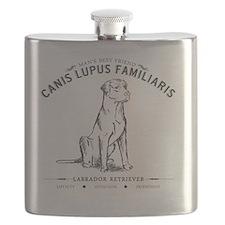 Vintage Labrador Flask