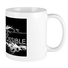 All things are possible in Black and Wh Small Mug
