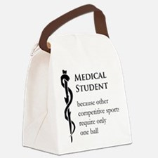 Medical Student Because... Canvas Lunch Bag