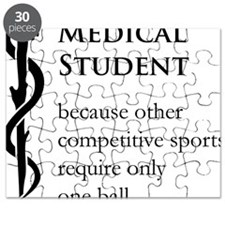 Medical Student Because... Puzzle