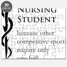 Nursing Student Because... Puzzle