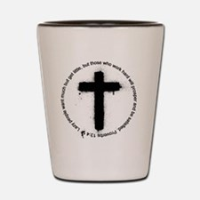 Cross Shot Glass