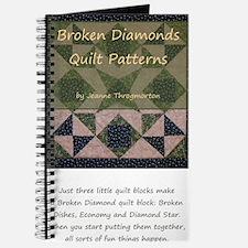 Broken Diamonds front cover Journal