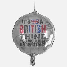 Shower BritThing Balloon