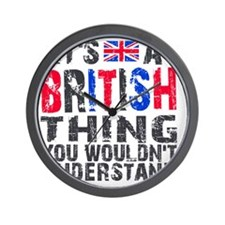 Shirt BritThing Wall Clock