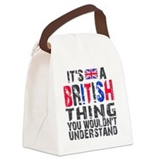 Shirt BritThing Canvas Lunch Bag