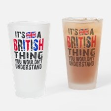 Shower BritThing Drinking Glass