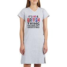 Shower BritThing Women's Nightshirt