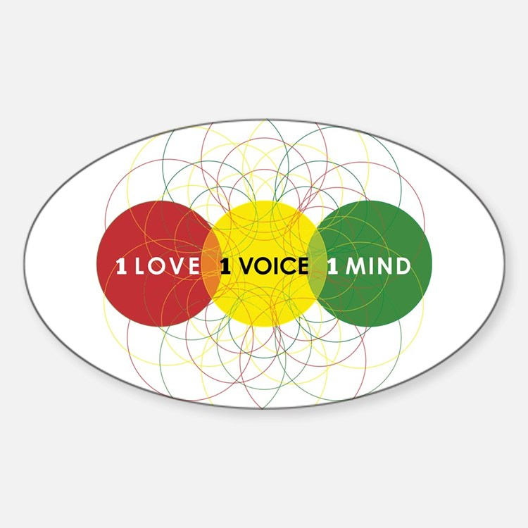 NEW-One-Love-voice-mind9 Decal