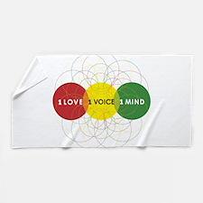 NEW-One-Love-voice-mind9 Beach Towel