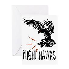 F117 Night Hawks Greeting Card
