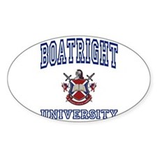 BOATRIGHT University Oval Decal
