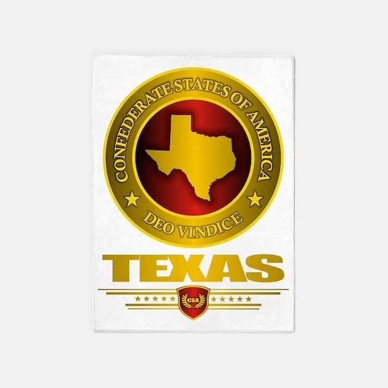 CSA Texas 5'x7'Area Rug