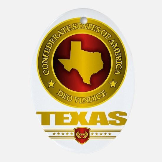 CSA Texas Oval Ornament