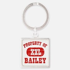 Property of Bailey Square Keychain