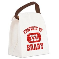 Property of Brady Canvas Lunch Bag