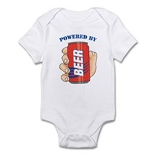Powered By Beer Infant Bodysuit
