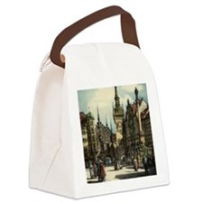 Original 1912 Drawing of Munich C Canvas Lunch Bag