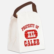 Property of Caleb Canvas Lunch Bag