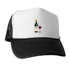 Wine Bottle And Wine Hat