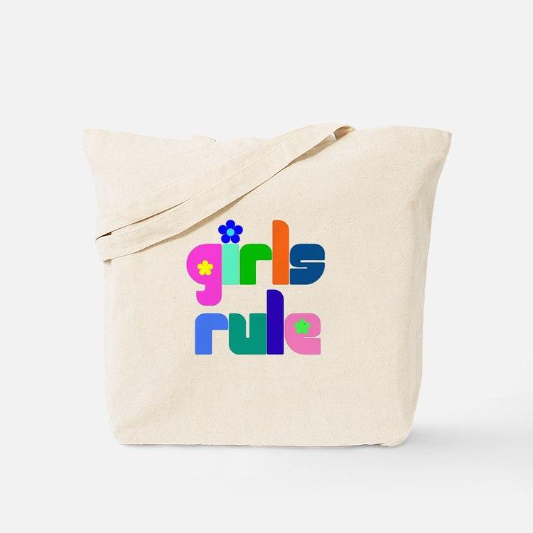 Girls rule Tote Bag