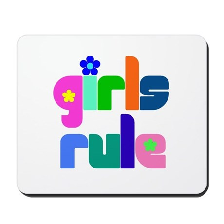 Girls rule Mousepad